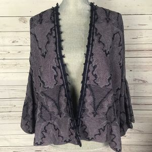 Free people open front cardigan Sz S